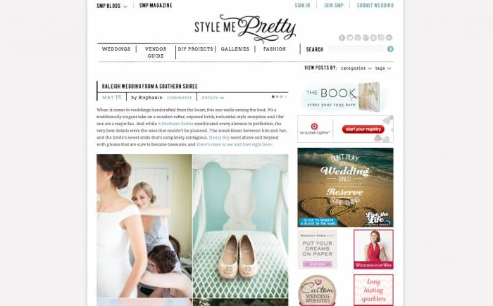 Featured • Style Me Pretty