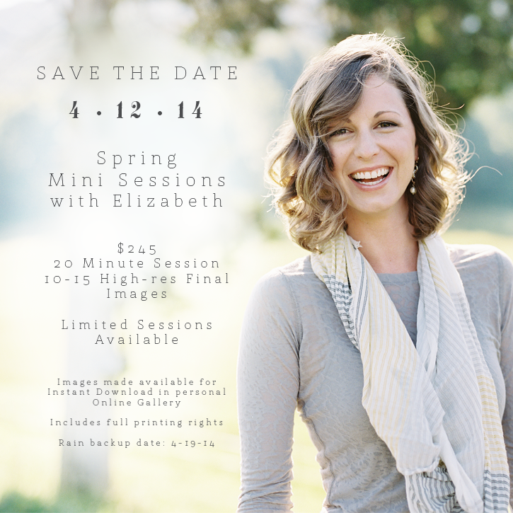 Spring mini-sessions