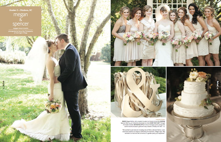2014:04:01 - The Knot Magazine : Megan and Spencer : Callie Davis - 2