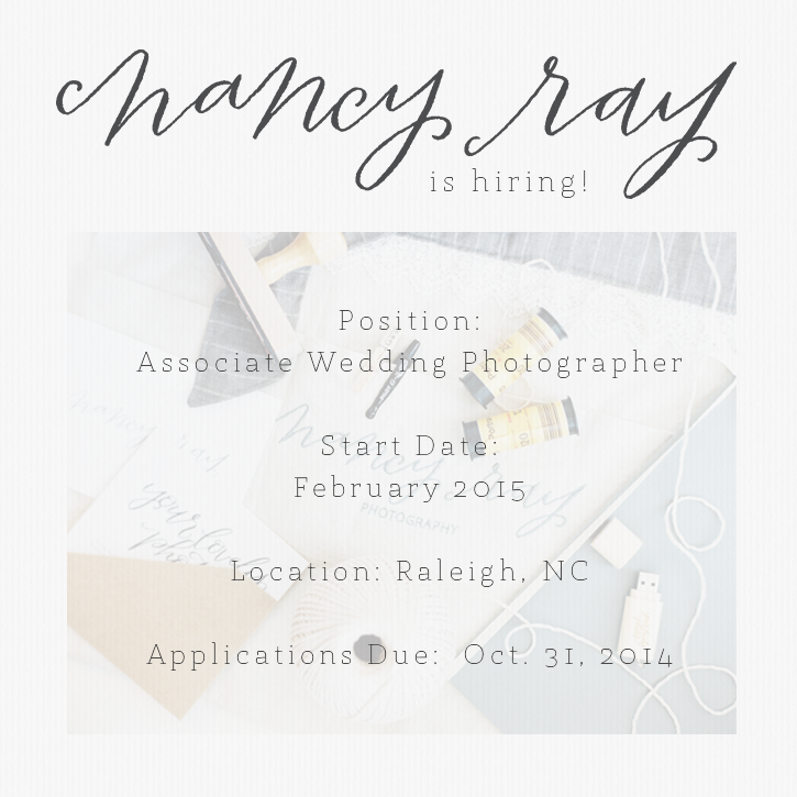 Hiring Associate Photographer
