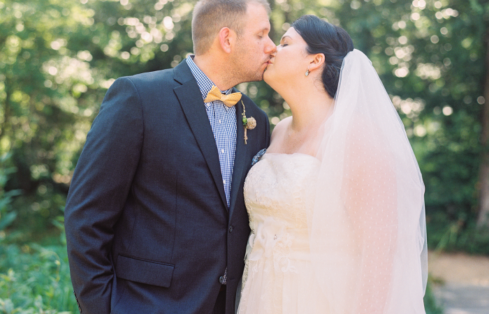 Jessica and Matt NC Botanical Garden Film Wedding