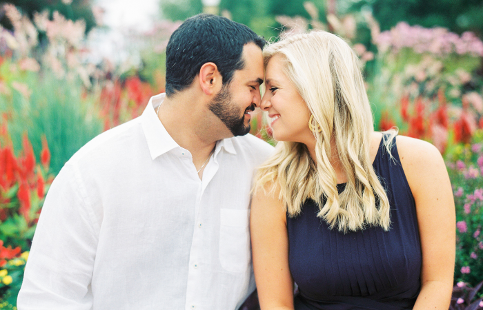 Allie and Michael Film Engagement Session