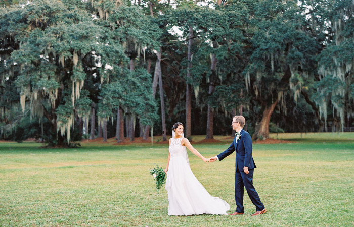 Abigail and Ben Bluffton, SC Film Wedding