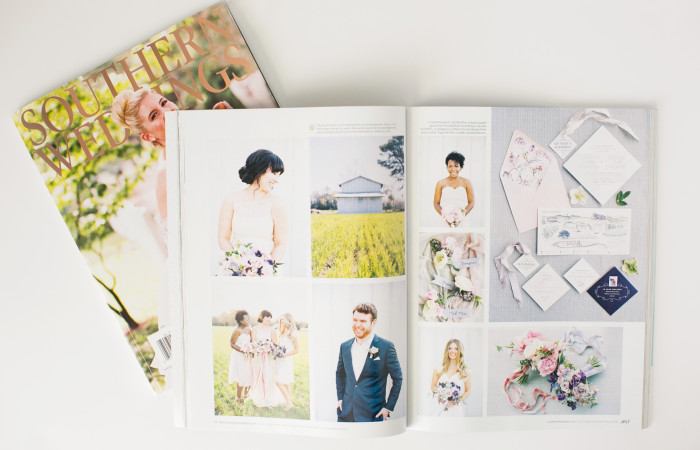 Southern Weddings V8 Print Features