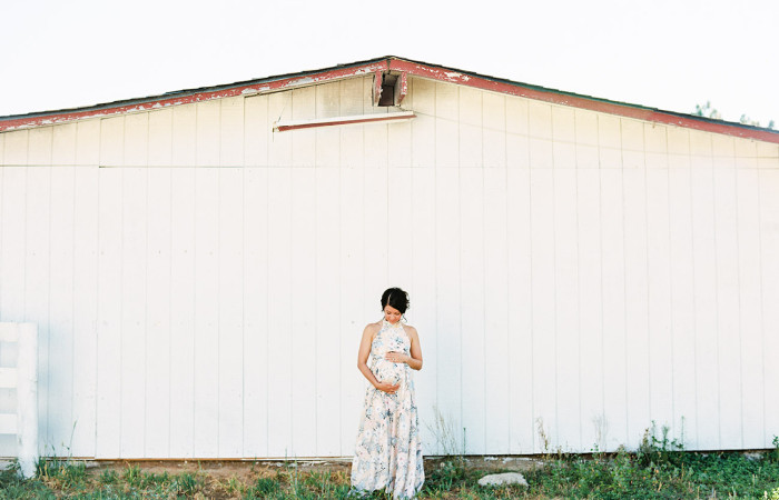 Amy Hawthorne Film Maternity Session