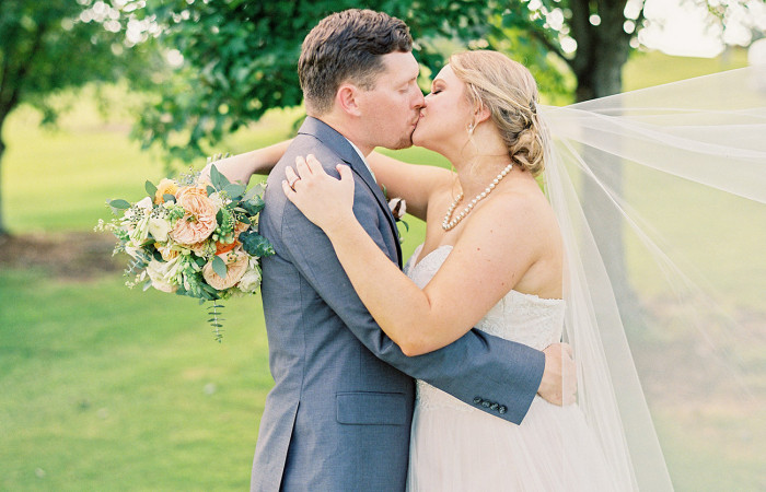 Becca and Tyler High Point, NC Film Wedding