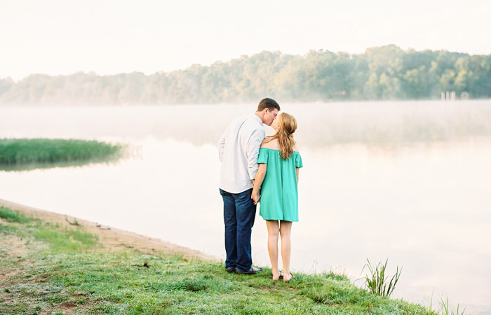 Courtney and Michael Film Engagement Session