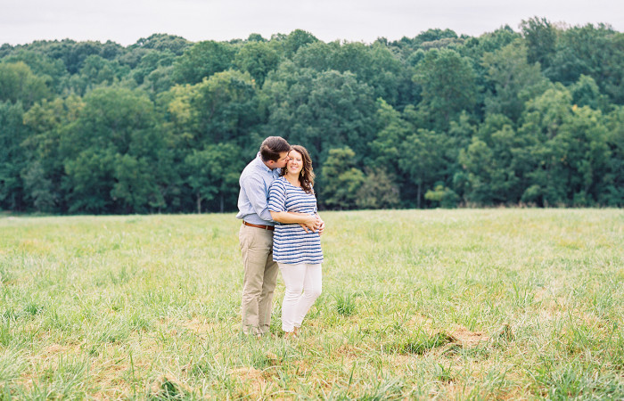Sarah and Joe Film Maternity Session