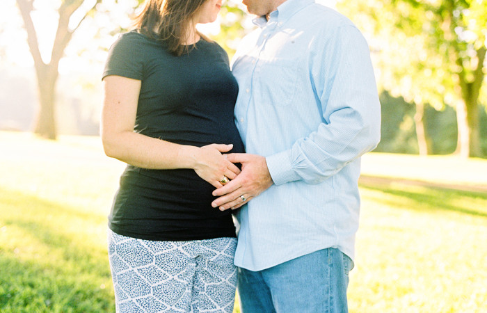 Ashley and Dustin Film Maternity Session