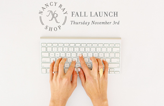 Nancy Ray Shop: Fall Launch THURSDAY!