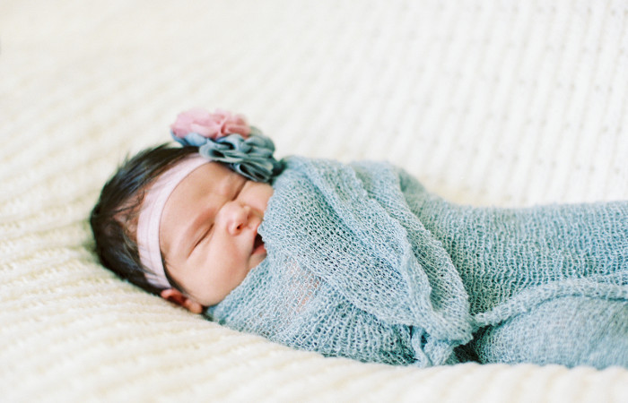 Grace Almond Film Newborn Session