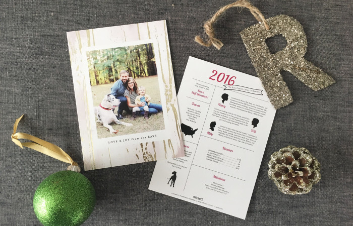 Our Christmas Card from Minted!