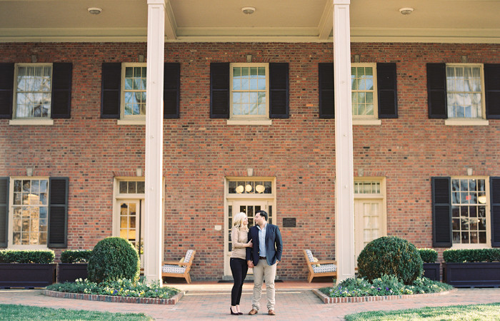 Forrest and Camilo Chapel Hill Film Engagement Session
