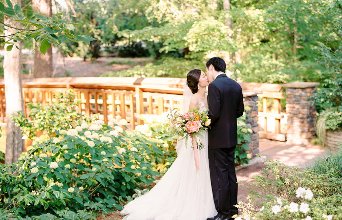 Stephanie and Kevin Duke Gardens Film Wedding