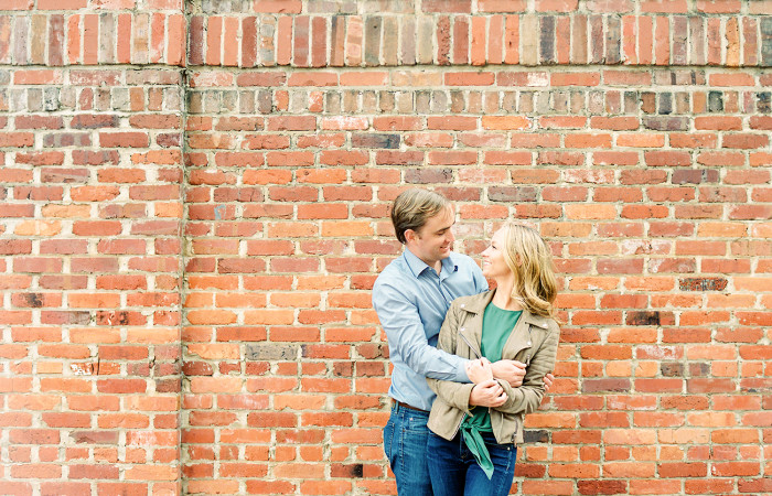 Kelsey and Tom Durham NC Film Engagement Session