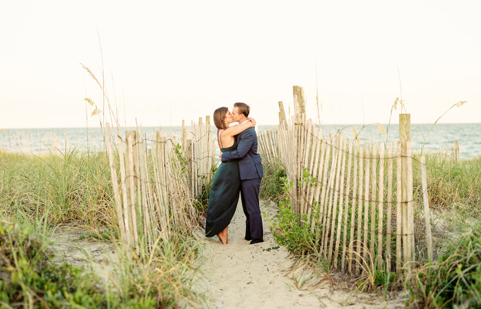Jessie and Mike Wilmington, NC Film Engagement Session