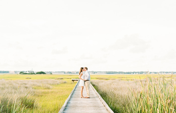 Madison and Spencer Atlantic Beach Film Engagement Session