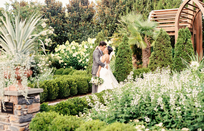 Alex and Carlos Duke Gardens Film Wedding