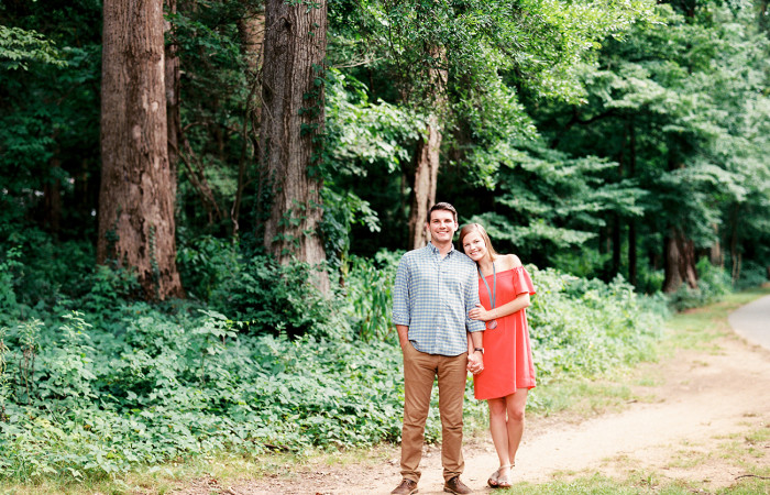 Shelton and Keegan Charlotte Film Engagement Session