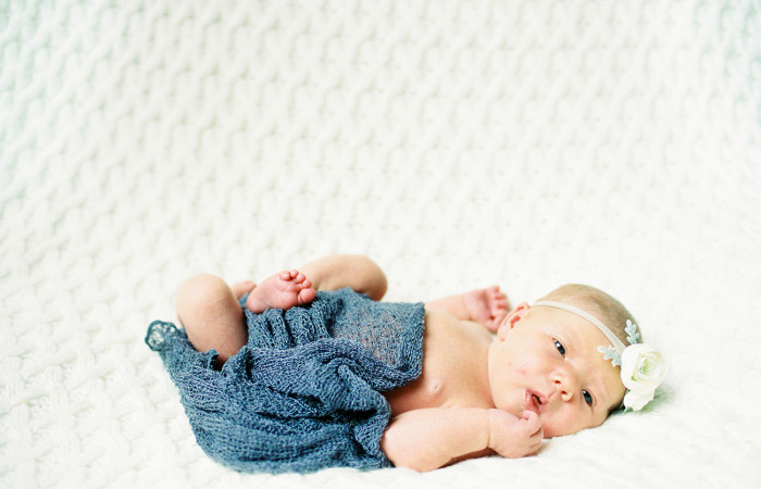 Chandler Hughes Film Newborn Session
