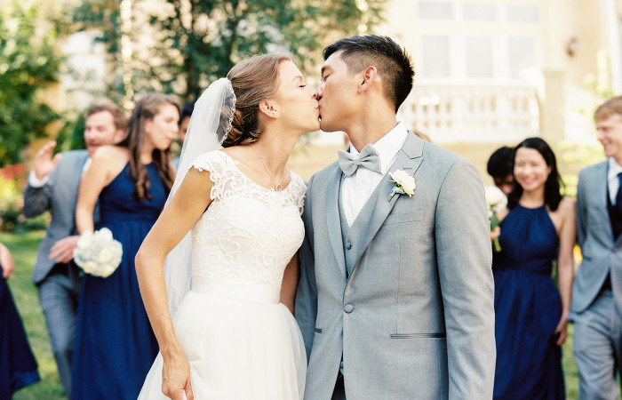 Georgeanna and Lawrence Film Downtown Raleigh Wedding