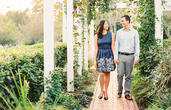 Brian and Christina Fearrington Film Engagement Session