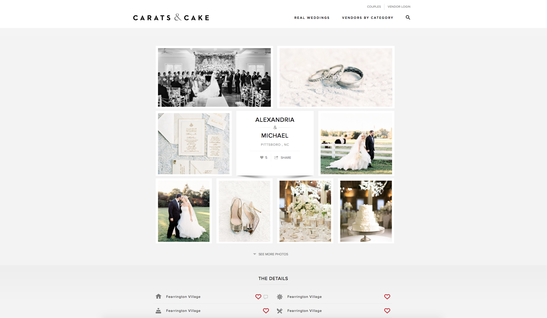2017:07:05 - Carats & Cake : Alexandria and Michael Wedding : Callie Davis