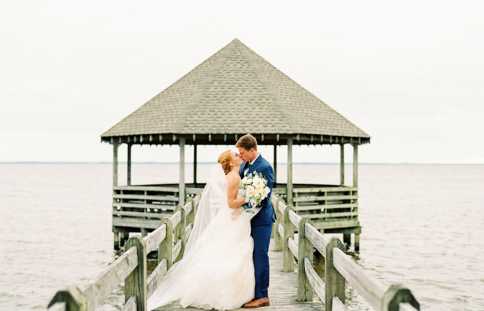 Courtney and Michael Outer Banks, NC Film Wedding