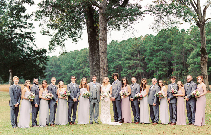 Sudie and Evin Grimesland, NC Film Wedding